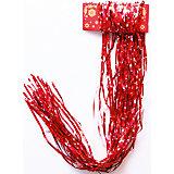 Красный дождик 9*150 см