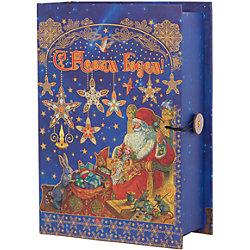 """Подарочная коробка """"Мастерская Деда Мороза"""" 20*14*6 см"""