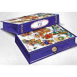 """Подарочная коробка """"Медвежата"""" 20*14*6 см"""
