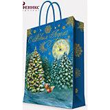 """Подарочный пакет """"Белочка в лесу"""" 17,8*22,9*9,8 см"""