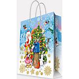 """Подарочный пакет """"Почта Деда Мороза"""" 26*32,4*12,7 см"""