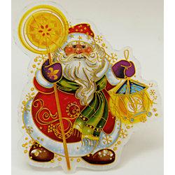 """Украшение """"Дед Мороз"""" со светодиодной подсветкой"""