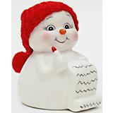 """Керамический снеговик """"Список подарков"""""""