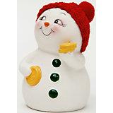 "Керамический снеговик ""С монетами"""