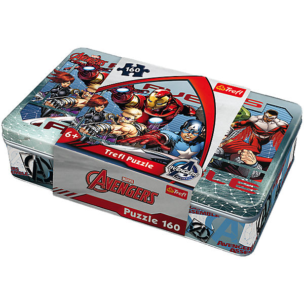 Puzzle in a box - 160 Teile - Marvel Avengers