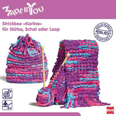 MADE BY YOU Strickbox Karina für Mütze, Schal oder Loop
