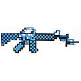 Пиксельный автомат, синий, 62 см, Minecraft