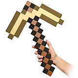 Пиксельная кирка, золотая, 45 см, Minecraft