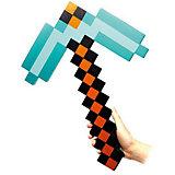 Пиксельная кирка, изумрудная, 45 см, Minecraft