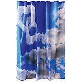 """Занавеска для ванной Curtain-Clouds """"Облака"""", 180*180см, Рыжий Кот"""