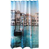 """Занавеска для ванной Curtain-Venice """"Венеция"""", 180*180см, Рыжий Кот"""