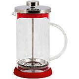 Кофе-пресс стеклянный GFP01-800ML-R, Mallony, красный