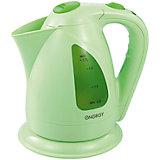 Чайник E-203 (1,7 л, диск), Energy,  св-зеленый