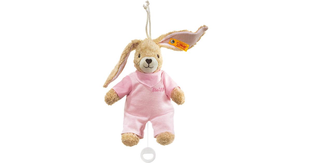 Hoppel Hase Spieluhr 20 rosa