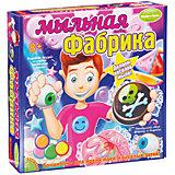 """Французские опыты """"Мыльная фабрика"""""""