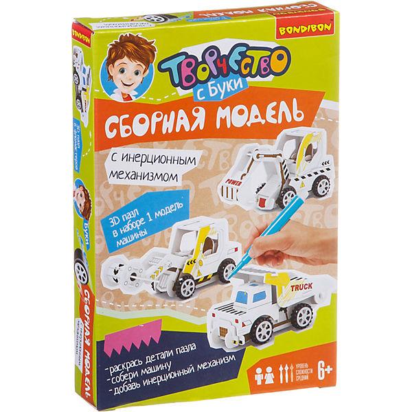 """Сборная 3D-модель """"Самосвал"""""""