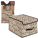 Короб стеллажный с крышкой, большой, 30*40*25 см, CLASSIC, Valiant