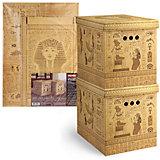 Короб картонный, складной, большой, 28*38*31.5 см, 2 шт., EGYPT, Valiant