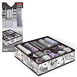 Органайзер для белья, 15 секций, 32*32*12 см, EXPEDITION, Valiant