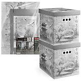 Короб картонный, складной, большой, 28*38*31.5 см, 2 шт., JAPANESE BLACK, Valiant
