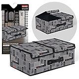Короб стеллажный 2-х секционный, 50*30*20см, JAPANESE BLACK, Valiant