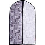 Чехол для одежды, малый, 60*100*10 см, JAPANESE BLACK, Valiant