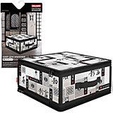 Кофр для хранения с застёжкой-молнией, 30*28*15 см, JAPANESE BLACK, Valiant