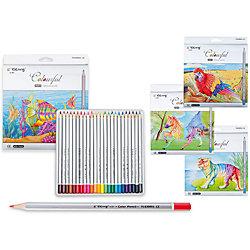 Цветные карандаши, 24 цвета