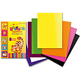 Цветной картон, 8 цветов, 8 листов