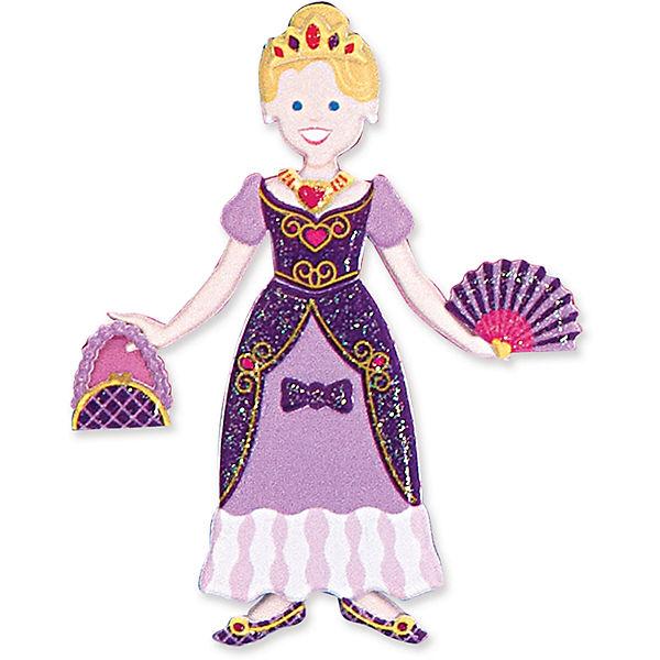 """Книжка с многоразовыми наклейками """"Принцессы"""""""