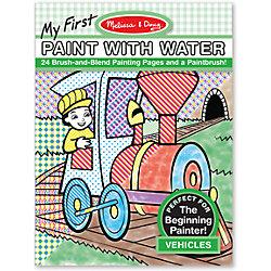 """Водные раскраски """"Транспорт"""