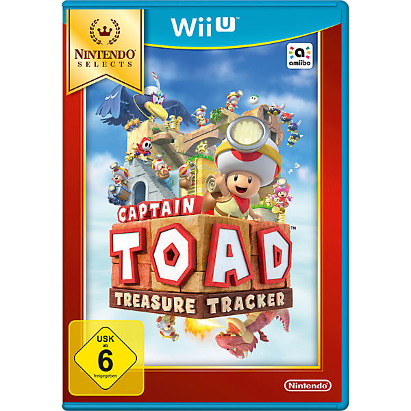 Wii U Captain Toad: Treaser Tracker Selects