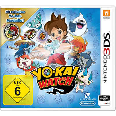 3DS YO-KAI WATCH inkl. Medaille (Special Edition)