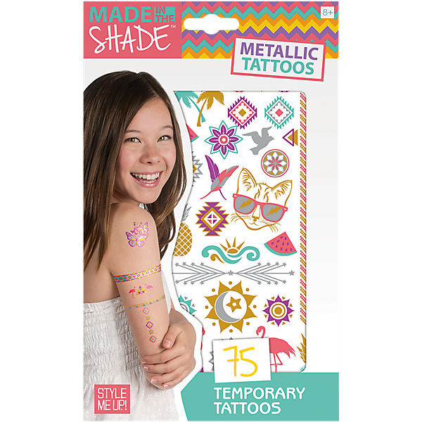 Made in the Shade - Metallic Tattoos