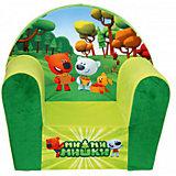 Мягкое кресло Ми-ми-мишки в50, СмолТойс, желтый