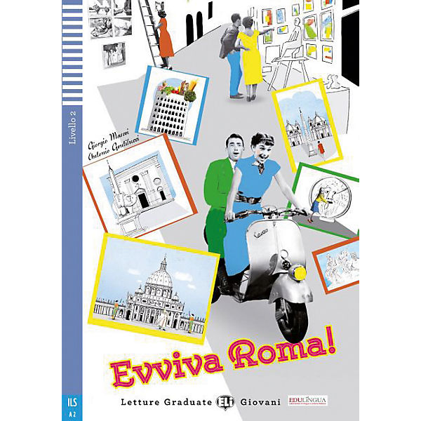 Evviva Roma!, m. Audio-CD