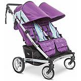 Прогулочная коляска для двойни, Zee Two, Valco baby , wisteria