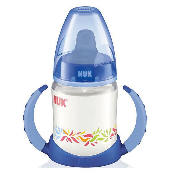 Бутылочка First Choice пласт. (ПП) 150 мл., NUK, синий