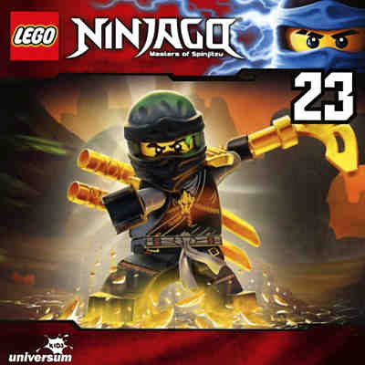 CD LEGO Ninjago - Masters of Spinjitzu 23
