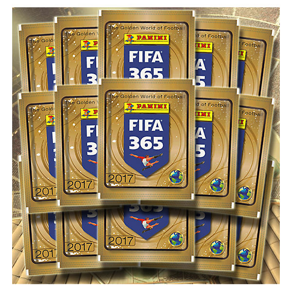 Panini FIFA 365 - Sammelsticker Mini-Tin mit Stickern Saison 2016/2017