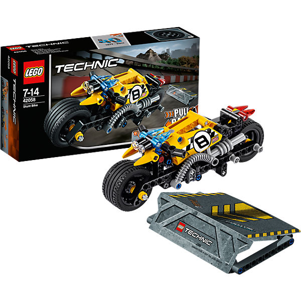 lego 42058 technic stunt motorrad lego technic mytoys. Black Bedroom Furniture Sets. Home Design Ideas