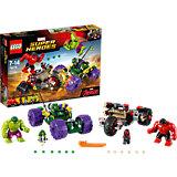 LEGO Super Heroes 76078: Халк против Красного Халка