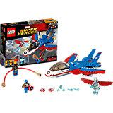 LEGO Super Heroes 76076: Воздушная погоня Капитана Америка