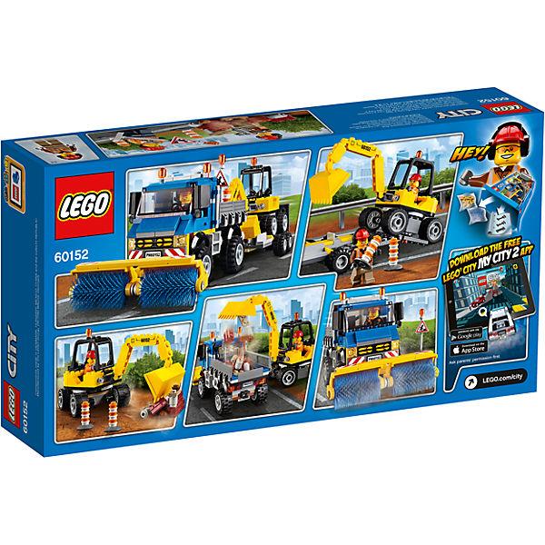 LEGO City 60152: Уборочная техника