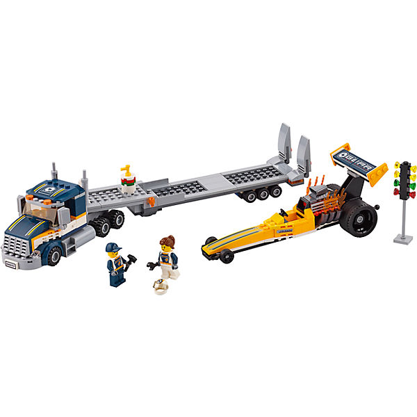 LEGO City 60151: Грузовик для перевозки драгстера