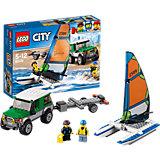 LEGO City 60149: Внедорожник с прицепом для катамарана