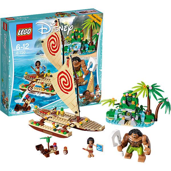 LEGO Disney Princesses 41150: Путешествие Моаны через океан