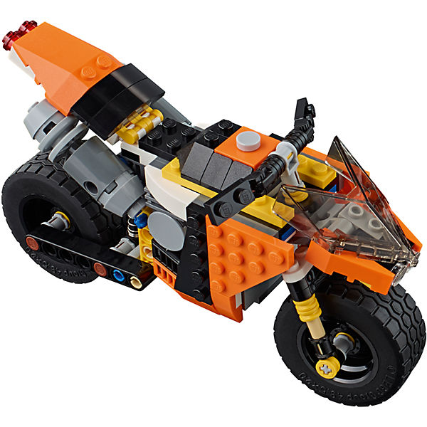 LEGO Creator 31059: Оранжевый мотоцикл