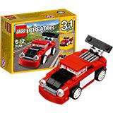 LEGO Creator 31055: Красная гоночная машина