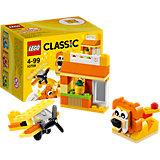 LEGO Classic 10709: Оранжевый набор для творчества